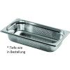Gastronormbehälter Edelstahl perforiert 1/3 GN 65 mm...