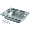 Gastronormbehälter Edelstahl perforiert 1/2 GN 40 mm...