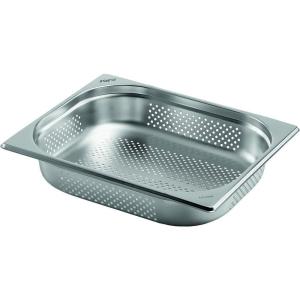 Gastronormbehälter Edelstahl perforiert 1/2 GN 65 mm tief