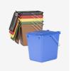 Abfallbehälter 10-Ltr. mit Tragegriff gelb