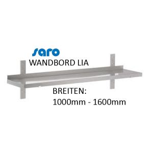 Wandbord Modell LIA (1 Borde) (1000mm - 1600mm)