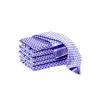 Grubentuch blau 50x90cm Cotton VE = 10 Stück