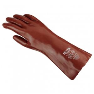 TEXXOR Chemikalienschutzhandschuh PVC EN 388, EN 374 VE= 12 Paar
